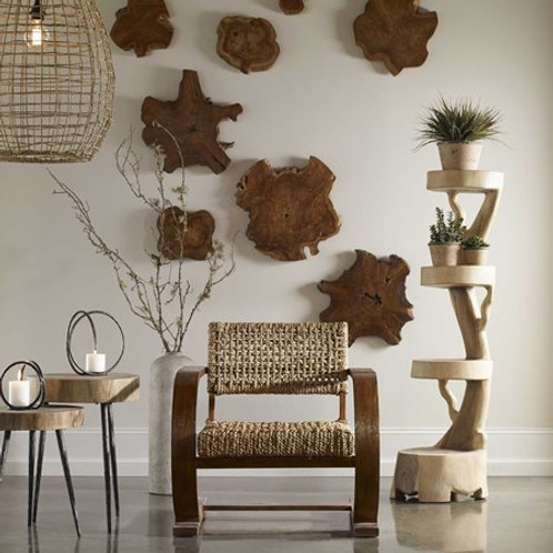 Uttermost KALANI WOOD WALL DECOR, S/3 #04085