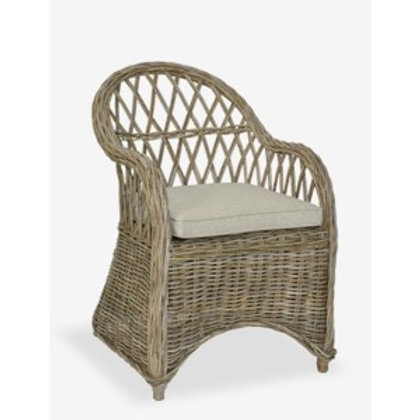 Jeffan Bayside Round Back Arm Chair #SD-70361