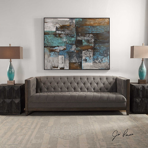 MELADO CHESTERFIELD SOFA #R23452