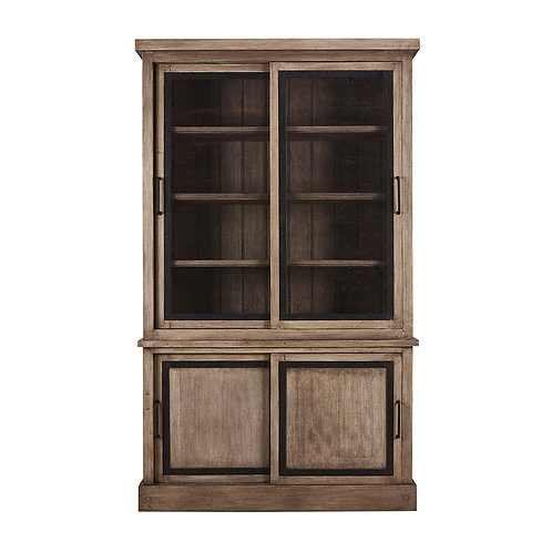Bramble Urban Bookcase W/ Wire Mesh Doors #27271LDT