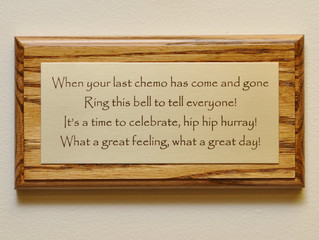 "Chemotherapy- You ""Rang the Bell"", but are you ready to celebrate?"