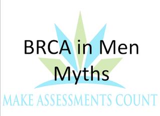 BRCA in Men Myths
