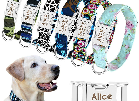 Personalized Nylon Dog Collar™