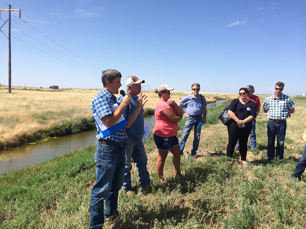 Joe Frank and Carson Smart talk about the benefits of groundwater recharge