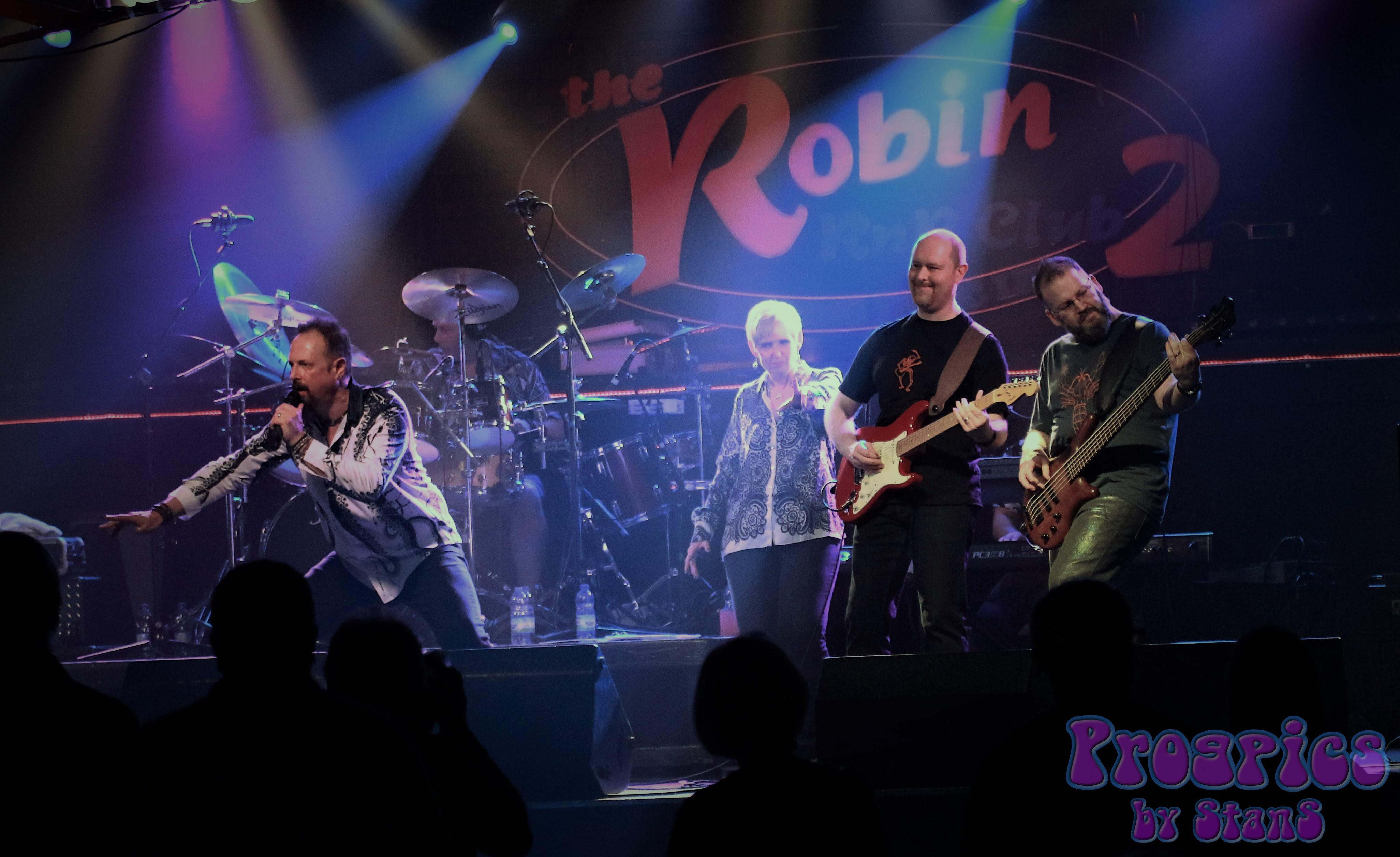 Strangefish at Robin, Bilston 5th May 20