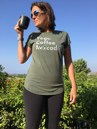 Avocados Tee in Green _ £30