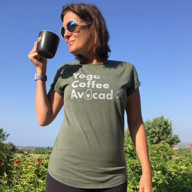 Avocados Tee in Green | £30