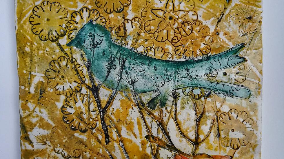 Blue Bird Tile