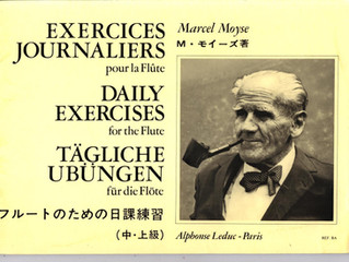 New Project: Moyse Daily Exercises