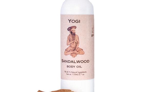 Yogi Sandalwood Body Oil
