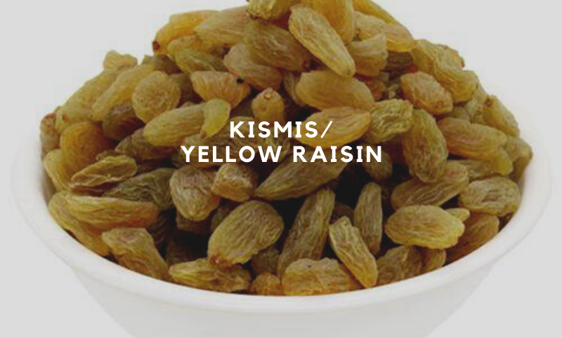 Premium Yellow Raisin - 1kg