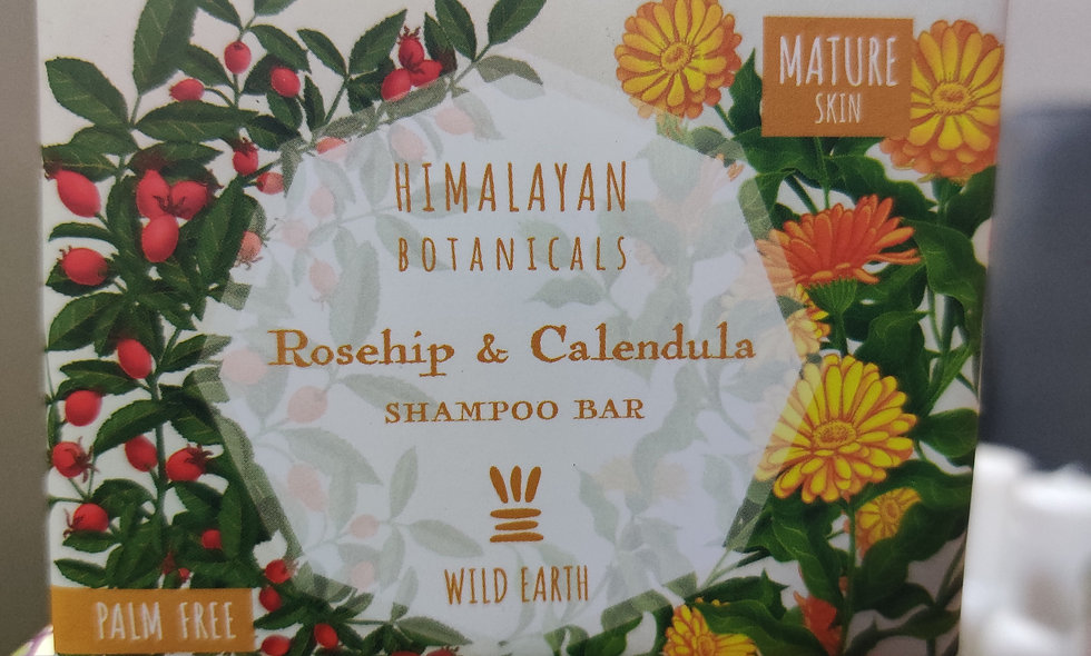 Roseship & Calendula - Shampoo Bar