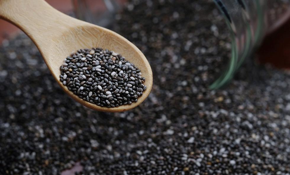 Black Chia Seeds - 1000g