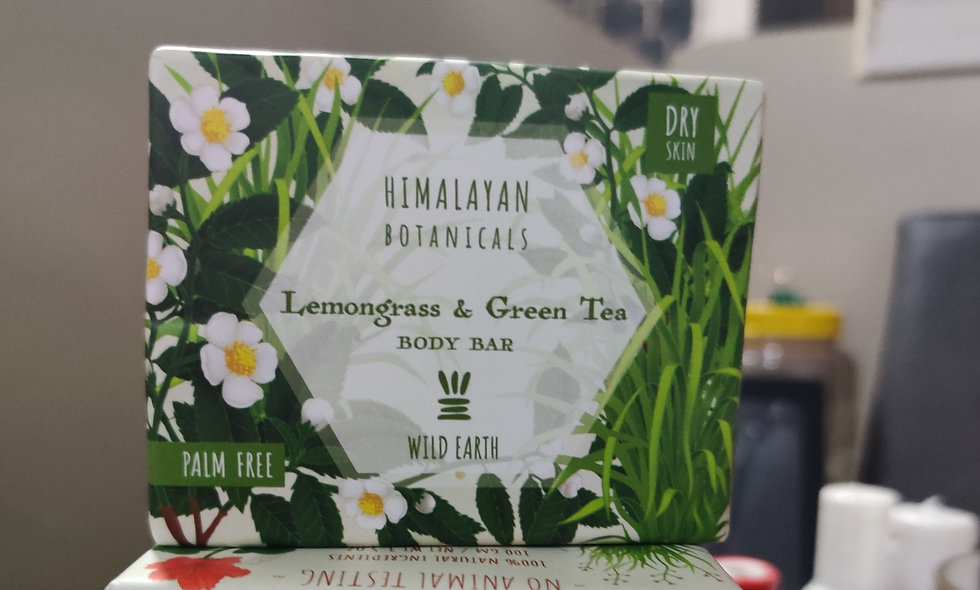 Lemon Grass & Green Tea - Body Bar