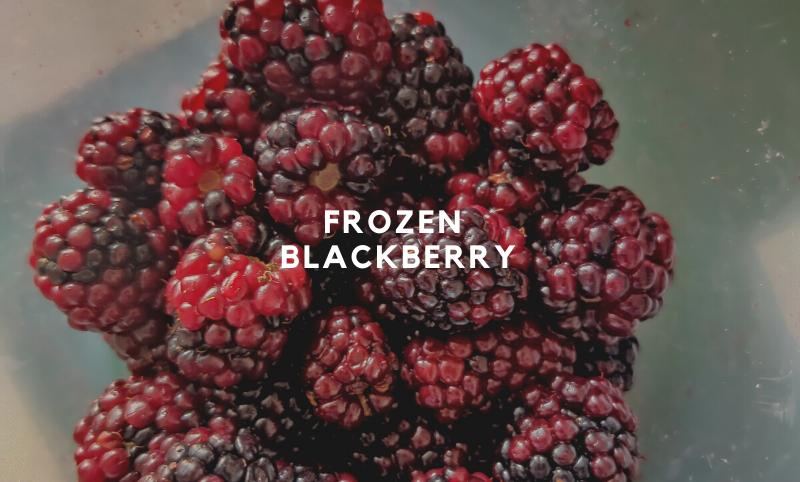 Frozen Blackberry-500gms