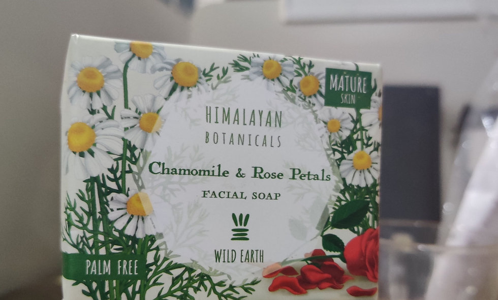 Chamomile & Rose Petal Facial Soap