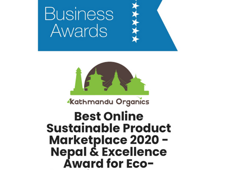 Kathmandu Organics Wins APAC Insider Business Award 2020