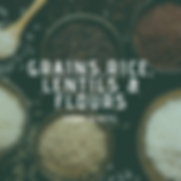 Rice, Daal, Lentils, Flour