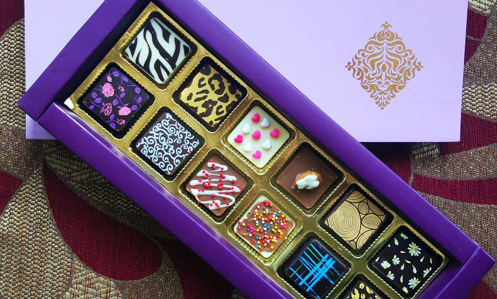 Assorted Chocolates - 12 pieces