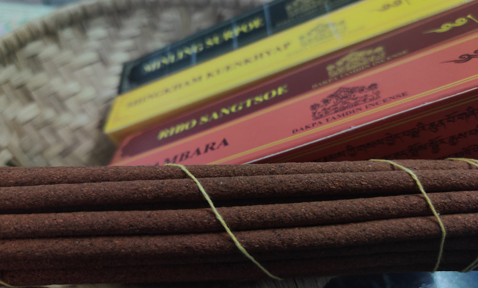 Dakpa Tamdin Incense - Gift Pack