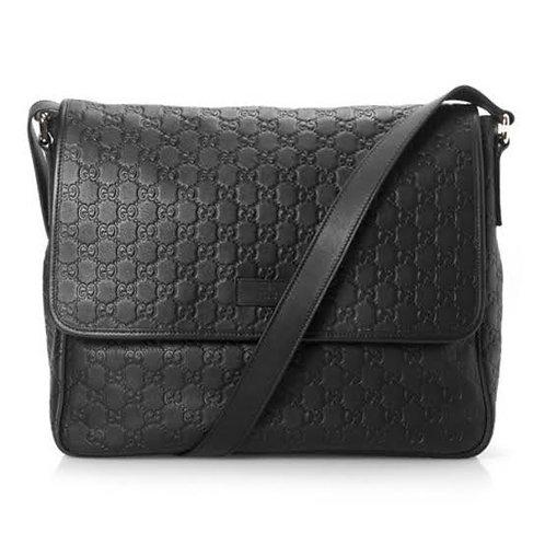 Gucci Messenger leather ( 35 x 30 x 11 cm/s ) IMPECÁVEL • 5.680 em 12 sem juros