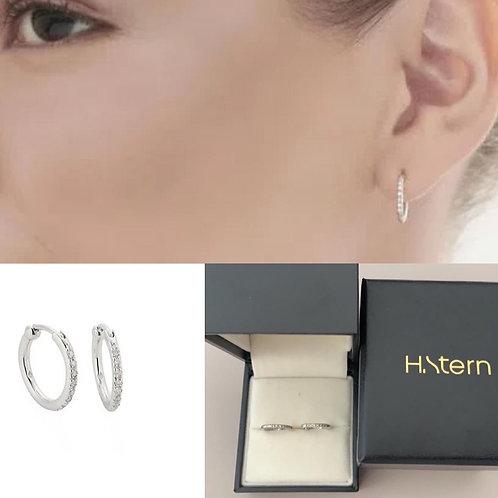 H Stern Ouro branco com diamantes acompanha caixa 12 sem juros ou à v