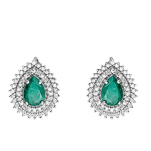 Vivara Esmeralda e diamantes