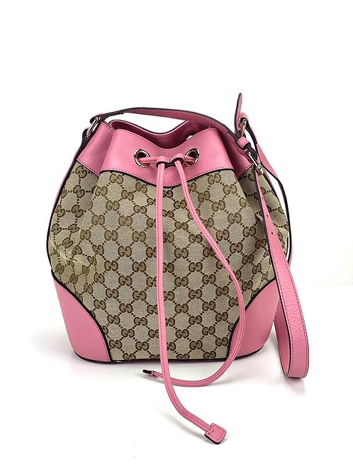 Gucci Bucket Canvas Small Bag