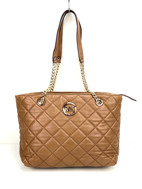 Michael Kors fulton quilted leather