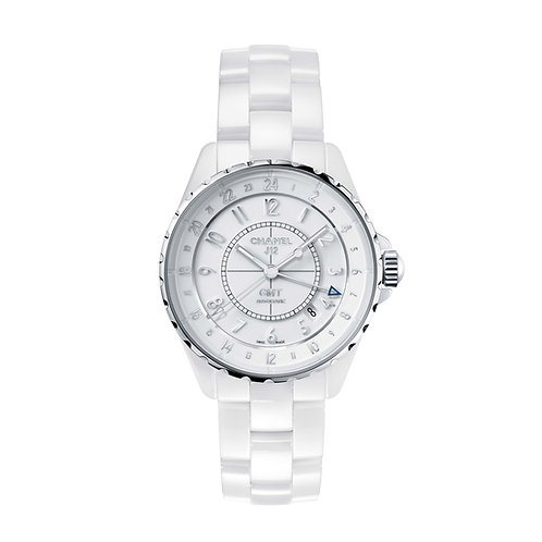 Chanel J12 GMT White Ceramic & Steel 38mm H3103