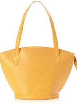 Bolsa Louis Vuitton Saint Jacques Epi Amarelo