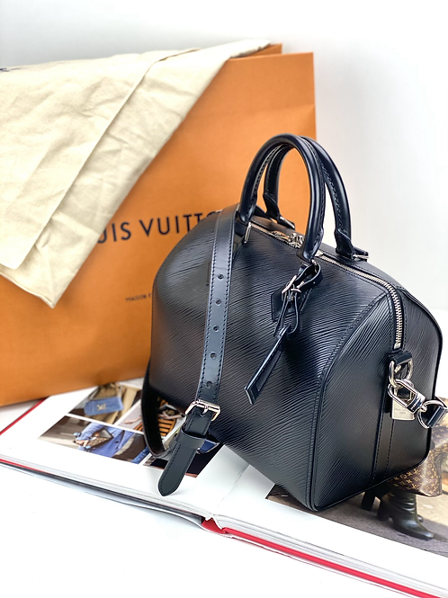 LV Bandouliere 25 couro