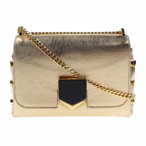 JIMMY CHOO Dame Etched Metallic Spazzolato