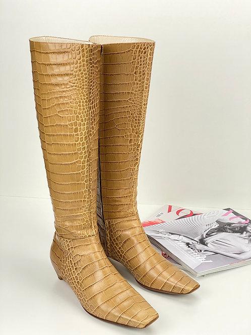 Bota Christian Dior texturizada 35