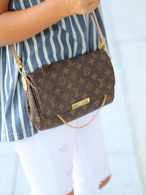 LV favorite MM Monogram