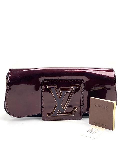 Louis Vuitton Louis Vuitton Amarante Patent Leather Sobe Clutch