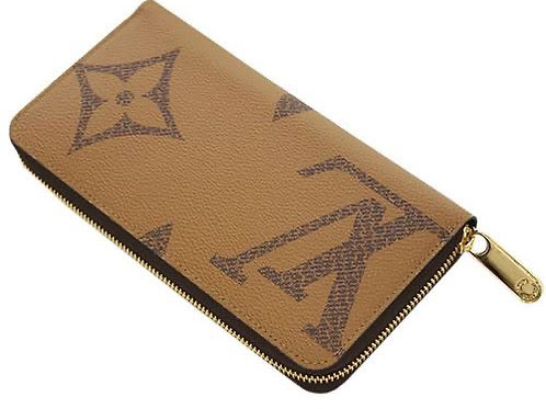 LV Carteira Zippy reverse giant