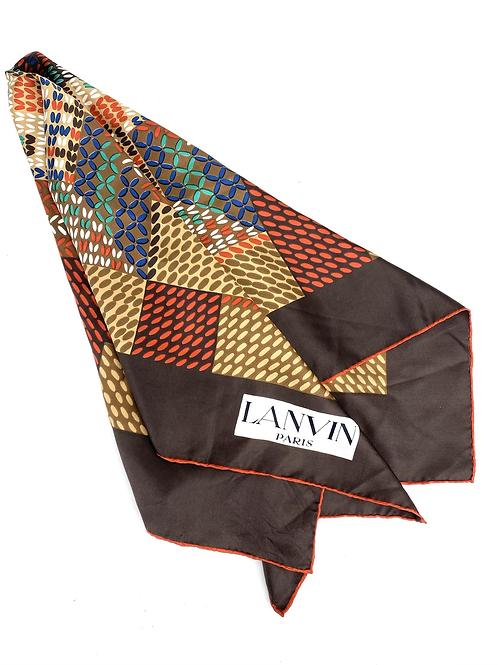 Lenço em seda Lanvin