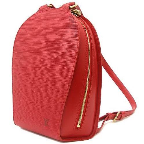 Heritage Vintage: Mochila Louis Vuitton Red Epi Leather Mabillon