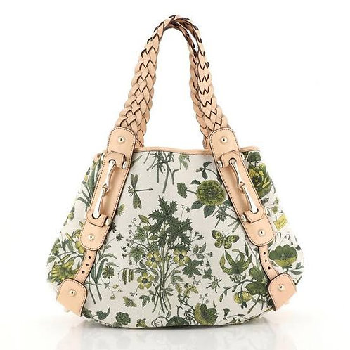 Gucci Pelham Shoulder Bag Flora Canvas