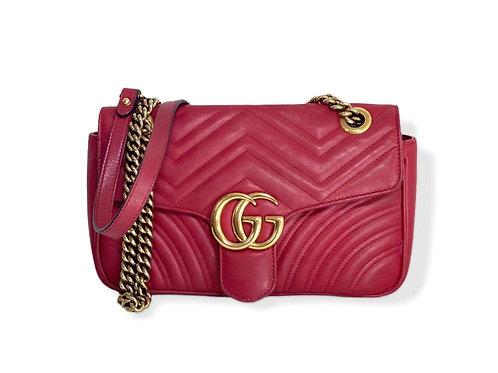 Gucci Marmont vermelha