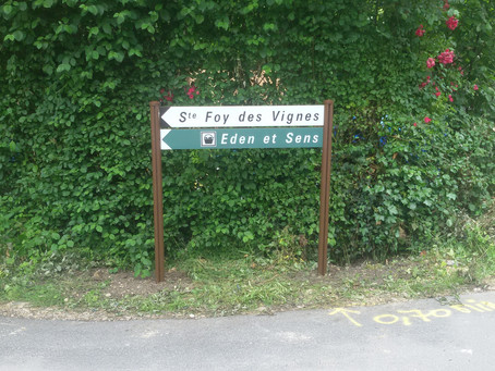 Signalétique en place !