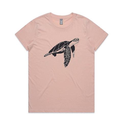 Turtle Tee Pink
