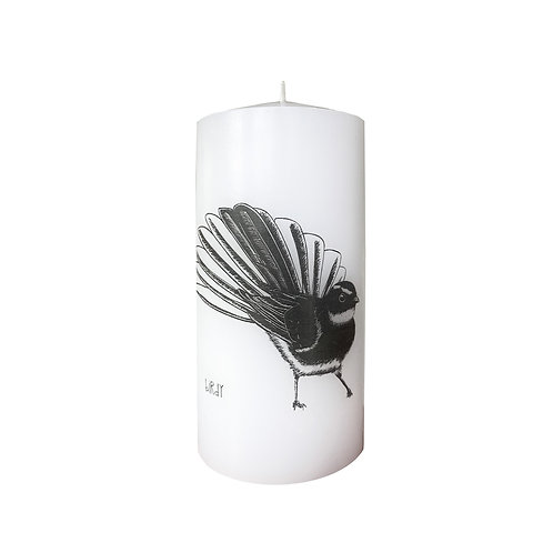 Piwakawaka candle