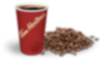 Tim Hortons Coffee Cup & Beans Image Tim Hortons Fredericton & Minto Group