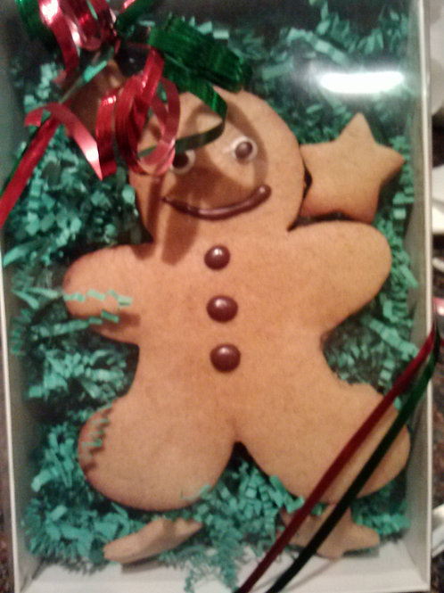 Personalized Ginger Bread Dog Cookie