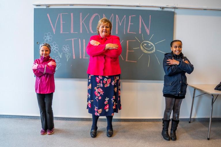 Las clases ya arrancaron en Noruega