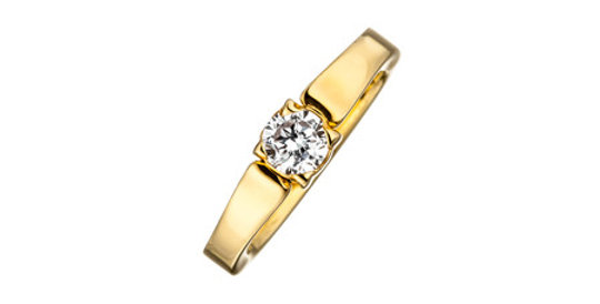 Magnetic Ring Classix, gold plated