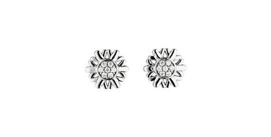 Magnetic Earrings Snowflake