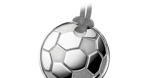 Magnetic pendant Football